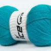 Lot of 4 x 100gr Skeins Ice Yarns VIRGIN WOOL DELUXE (100% Virgin Wool) Yarn Turquoise