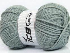 Lot of 4 x 100gr Skeins Ice Yarns SOFTLY BABY Hand Knitting Yarn Grey