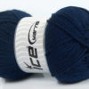 Lot of 4 x 100gr Skeins Ice Yarns SOFTLY BABY Hand Knitting Yarn Navy