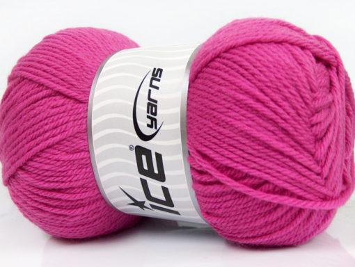 Lot of 4 x 100gr Skeins Ice Yarns SOFTLY BABY Hand Knitting Yarn Pink