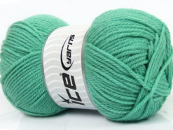 Lot of 4 x 100gr Skeins Ice Yarns SOFTLY BABY Hand Knitting Yarn Mint Green