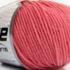 Lot of 6 Skeins Ice Yarns SUPERWASH MERINO Hand Knitting Yarn Rose Pink