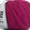 Lot of 8 Skeins Ice Yarns ALARA (50% Cotton) Hand Knitting Yarn Dark Fuchsia