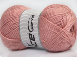 Lot of 4 x 100gr Skeins Ice Yarns DORA Hand Knitting Yarn Rose Pink