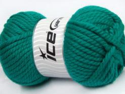 250 gr ICE YARNS ALPINE XL (45% Wool) Hand Knitting Yarn Emerald Green