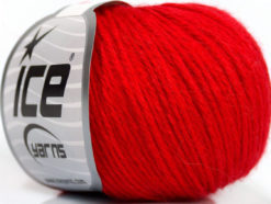 Lot of 6 Skeins Ice Yarns BABY MERINO DK (40% Merino Wool) Yarn Red