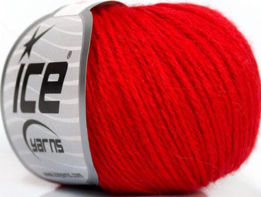 Lot of 6 Skeins Ice Yarns BABY MERINO DK (40% Merino Wool) Yarn Red