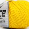 Lot of 6 Skeins Ice Yarns BABY MERINO DK (40% Merino Wool) Yarn Yellow