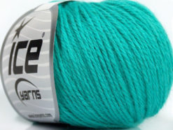 Lot of 6 Skeins Ice Yarns BABY MERINO DK (40% Merino Wool) Yarn Emerald Green