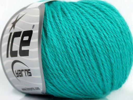 Lot of 6 Skeins Ice Yarns BABY MERINO DK (40% Merino Wool) Yarn Emerald Green