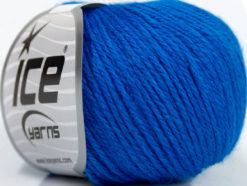 Lot of 6 Skeins Ice Yarns BABY MERINO DK (40% Merino Wool) Yarn Blue