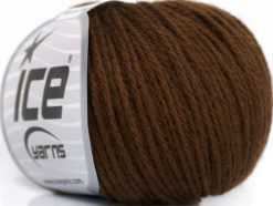 Lot of 6 Skeins Ice Yarns BABY MERINO DK (40% Merino Wool) Yarn Brown