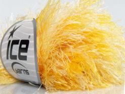 Lot of 8 Skeins Ice Yarns LONG EYELASH COLORFUL Yarn Yellow White