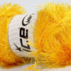 Lot of 4 x 100gr Skeins Ice Yarns EYELASH GLITZ Hand Knitting Yarn Gold