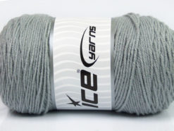 Lot of 2 x 200gr Skeins Ice Yarns SAVER Hand Knitting Yarn Grey