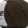 Lot of 8 Skeins Ice Yarns WOOL FINE 30 (30% Wool) Hand Knitting Yarn Dark Brown