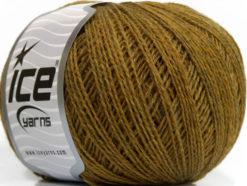 Lot of 8 Skeins Ice Yarns WOOL FINE 30 (30% Wool) Yarn Green Melange