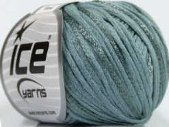 Lot of 6 Skeins Ice Yarns SUMMERTIME (79% Cotton 21% Viscose) Yarn SlateGrey