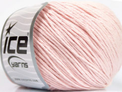 Lot of 4 x 100gr Skeins Ice Yarns COTTON BAMBOO LIGHT (60% Bamboo 40% Cotton) Yarn Light Pink