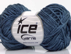 Lot of 8 Skeins Ice Yarns CACTUS TROPICAL Hand Knitting Yarn Dark Blue