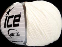 Lot of 4 Skeins Ice Yarns AMIGURUMI COTTON (60% Cotton) Hand Knitting Yarn Ecru