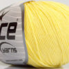 Lot of 4 Skeins Ice Yarns AMIGURUMI COTTON (60% Cotton) Yarn Light Yellow