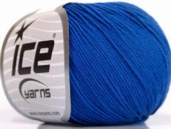 Lot of 4 Skeins Ice Yarns AMIGURUMI COTTON (60% Cotton) Yarn Dark Blue