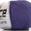 Lot of 4 Skeins Ice Yarns AMIGURUMI COTTON (60% Cotton) Yarn Purple