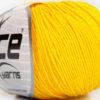 Lot of 4 Skeins Ice Yarns AMIGURUMI COTTON (60% Cotton) Yarn Yellow