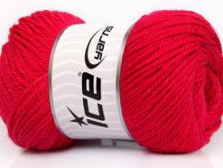 Lot of 4 x 100gr Skeins Ice Yarns NORSK (45% Alpaca 25% Wool) Yarn Fuchsia