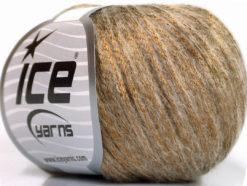 Lot of 8 Skeins Ice Yarns ROCK STAR (19% Merino Wool) Yarn Bronze Beige