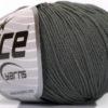 Lot of 4 Skeins Ice Yarns AMIGURUMI COTTON (60% Cotton) Hand Knitting Yarn Grey