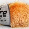 Lot of 8 Skeins Ice Yarns EYELASH COLORFUL Hand Knitting Yarn Yellow Gold