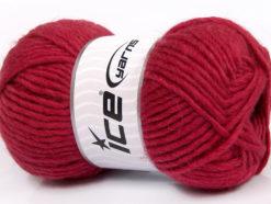 Lot of 4 x 100gr Skeins Ice Yarns FELTING WOOL (100% Wool) Yarn Dark Fuchsia