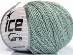 Lot of 4 Skeins Ice Yarns SILK COTTON (32% Silk 68% Cotton) Yarn Light Blue