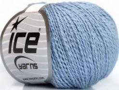 Lot of 4 Skeins Ice Yarns SILK COTTON (32% Silk 68% Cotton) Yarn Light Lilac