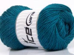 Lot of 4 x 100gr Skeins Ice Yarns NORSK (45% Alpaca 25% Wool) Yarn Teal