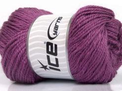Lot of 4 x 100gr Skeins Ice Yarns NORSK (45% Alpaca 25% Wool) Yarn Lavender