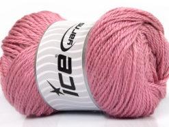 Lot of 4 x 100gr Skeins Ice Yarns NORSK (45% Alpaca 25% Wool) Yarn Pink