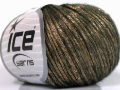 Lot of 8 Skeins Ice Yarns ROCK STAR (19% Merino Wool) Yarn Bronze Dark Brown