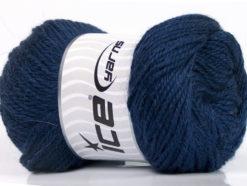 Lot of 4 x 100gr Skeins Ice Yarns NORSK (45% Alpaca 25% Wool) Yarn Navy