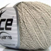 Lot of 4 Skeins Ice Yarns SILK COTTON (32% Silk 68% Cotton) Yarn Beige