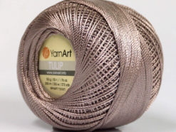 Lot of 6 Skeins YarnArt TULIP (100% MicroFiber) Hand Knitting Yarn Light Camel