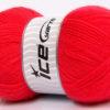 Lot of 4 x 100gr Skeins Ice Yarns SUPER BABY Hand Knitting Yarn Salmon