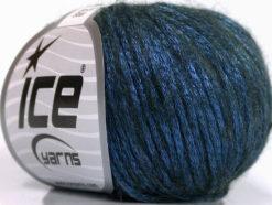 Lot of 8 Skeins Ice Yarns ROCK STAR (19% Merino Wool) Hand Knitting Yarn Blue