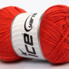 Lot of 4 x 100gr Skeins Ice Yarns BABY COTTON 100GR (100% Giza Cotton) Yarn Orange