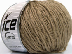 Lot of 8 Skeins Ice Yarns ICON WOOL (60% Wool) Hand Knitting Yarn Camel