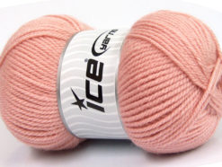 Lot of 4 x 100gr Skeins Ice Yarns Worsted FAVORITE Yarn Powder Pink