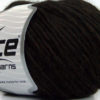 Lot of 8 Skeins Ice Yarns WOOL CORD BULKY (50% Wool) Yarn Coffee Brown
