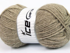 Lot of 4 x 100gr Skeins Ice Yarns Bulky ATLAS Hand Knitting Yarn Beige
